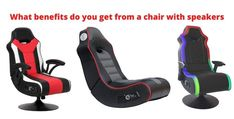 #chair #chair #Speaker #speakersystem #chairspeaker #chairwithspeaker #Benefits Pc Gaming Chair, High Quality Speakers, Best Pc, Built In Speakers, Speaker System, Cool Chairs, Listening To Music, Benefit