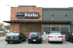 Great sushi on bloor st near prince edward