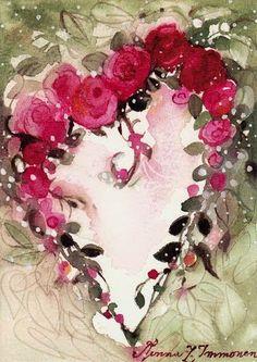 BELLAS PINTURAS DE MiNNA IMMONEN - Ana Cecilia Chaverri - Álbumes web de Picasa