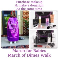 Tonight is the last night to donate to the March of Dimes!  The walk is tomorrow morning!   Tell your significant other that you are donating $$$ to a worthy cause and not just buying makeup. Ladies who does not like buying makeup!  When you purchase YOUNIQUE products from this party 20% will be donated to our team for March of Dimes!  www.youniqueproducts.com/patriciaAblack/party/1874771/view Remember we have the Love it guarantee!  Try it for 14 days and if you don't love it return it or…