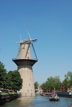 Schiedam De Nolet incl. wieken 55 meter hoog!
