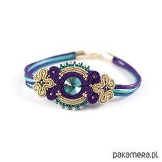 ... Soutache Bracelet, Soutache Jewelry, Shibori, Bag Pattern Free, Headbands, Turquoise Bracelet, Jewelery, Jewelry Design, Beads