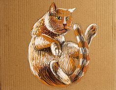 "Check out new work on my @Behance portfolio: ""FALLING FATCAT"" http://be.net/gallery/50572015/FALLING-FATCAT"