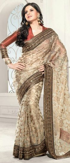 Beautiful saree .....