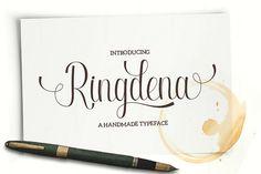 Ringdena Script by Graptail on @creativemarket
