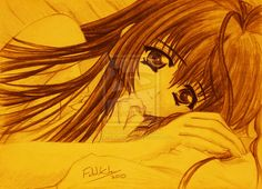 Anime girl 10 by Fahad-Naeem.deviantart.com on @DeviantArt