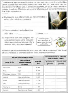 ATIVIDADES PARA APOIO PEDAGÓGICO: 2010 Education, Science Activities, Reading Activities, Geography Test, Fifth Grade, Science, Educational Illustrations, Learning, Studying
