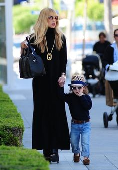 Rachel Zoe Spends the Day with Family