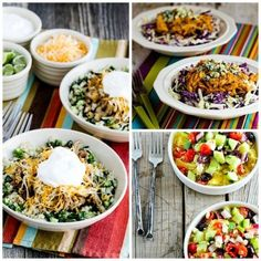Every Friday we spotlight low-carb recipes you might want to try over the weekend, and this Friday I'm featuring some of my favorites! 10 Low-Carb Bowl Meals You'll Make Over and Over are all dinners I make often; hope you enjoy trying some of them.Use theDiet-Type Indexto find more low-carb and gluten-free recipes like these. …