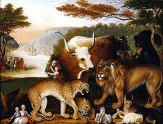The Athenaeum - Peaceable Kingdom (Edward Hicks - 1844)