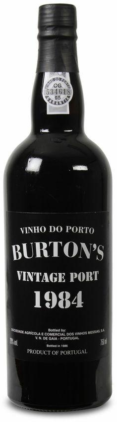Burton's Vintage Port 1984 von Vinhos Messias: 30 Jahre alter Portwein mit 75% Rabatt!  http://weinebilliger.de/burtons-vintage-port-1984-von-vinhos-messias/