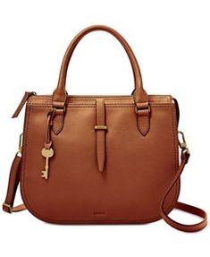 61d5fd78cc6fab Fossil Ryder Medium Satchel #designerhandbagbrands Designer Handbag Brands,  Leather Satchel Handbags, Crossbody Bag
