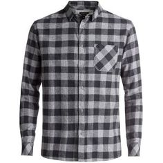 6838f9ff393 Quiksilver Motherfly Flannel Shirt - Men s Fashion Advisor