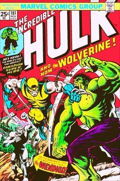 Incredible Hulk Vs Wolverine No.181 Marvel Comic Stand-up Display