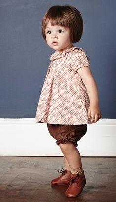 One of the most put together littles EVER! Minimoda.es #estella #kids #style