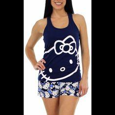 NWT Hello Kitty pajamas set NWT Hello Kitty Intimates & Sleepwear Pajamas