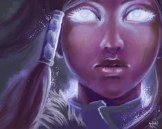 Avatar Korra   Avatar state by ~seeteufel-fisch on deviantART
