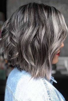 All About Salt And Pepper Hair And#8211; A Trend Designed To Spice Up Your Look ★