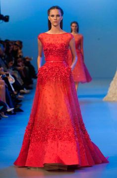 Dream dresses fit for a princess on the Elie Saab Couture catwalk:  http://uk.bazaar.com/1cV23Z7