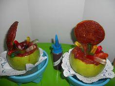 ESCUELA de Creatividades Latinas: Curso de Manzanas rellenas #2