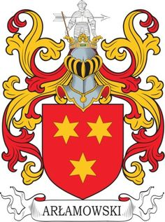Arlamowski Family Crest and Coat of Arms