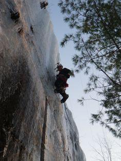 Dr. Tom Denham climb