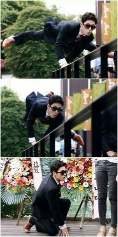 "Because walking is too mainstream... ""Fated To Love You"""