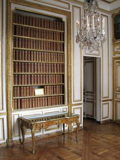 Library in the Depeche Cabinet Room inside the king's small apartment (Palace of Versailles). Chateau Versailles, Palace Of Versailles, Louis Xiv, Roi Louis, Palace Interior, Interior Architecture, Interior Design, Home Libraries, Grand Homes