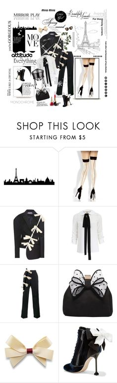 """""""** You're Gorgeous by ** BlueMoon **"""" by bluemoon ❤ liked on Polyvore featuring WALL, Fantasy, Miu Miu, Jacquemus, Michael Kors, Miss KG, Kate Spade and FOLIES BY RENAUD"""