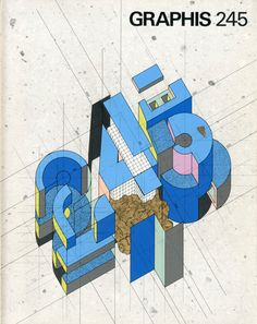 Takenobu Igarashi, cover for Graphis, 1986_245