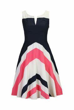 eShakti Women's Retro style colorblock dress 1X-18W Regular Navy/off-white/sunkist coral eShakti,http://www.amazon.com/dp/B00I3CQ7S6/ref=cm_sw_r_pi_dp_4-fltb1SHCKYJ5GD