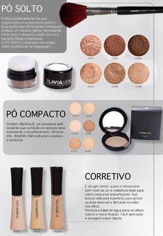 Make up Flavia leal cosmeticos!!!