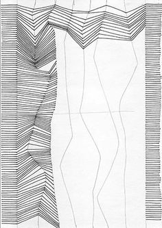 with lines. Really simple to imitate Bridget Riely - - Drawing with lines. Really simple to imitate Bridget Riely – -Drawing with lines. Really simple to imitate Bridget Riely - - Drawing with lines. Really simple to imitate Bridget Riely – - Desenho Pop Art, Posca Art, Drawing Exercises, Zentangle Patterns, Zentangles, Doodle Patterns, Line Patterns, Art Graphique, Drawing Techniques