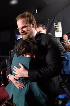 Stranger Things - David Harbour and Millie Bobby Brown