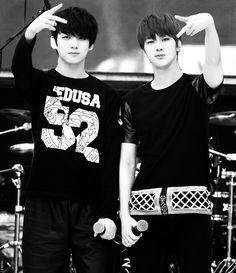 BTS Jungkook & Jin