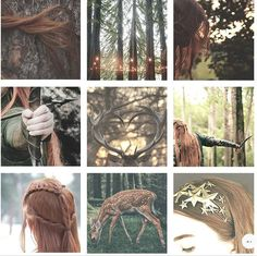 tolkien moodboards | tauriel - All light is sacred to the Eldar, but the Wood Elves love best the light of the stars.