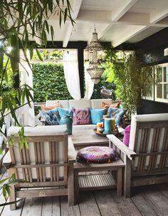 tuindroom, landelijke buitenkamer, Home and Garden