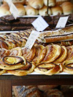 Traditional Danish Pastry at Bager Lucas Bakery in Tonder, Jutland, Denmark