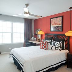 Bedroom Red Bedroom Design, Pictures, Remodel, Decor and Ideas
