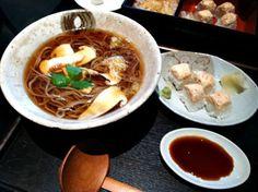 The Matsutake Soba at Tei-An