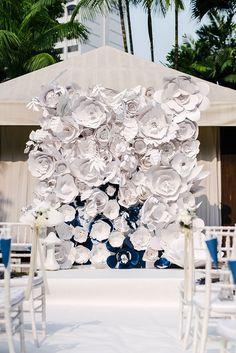 15+ Wonderrful Floral Wedding Backdrop Ideas