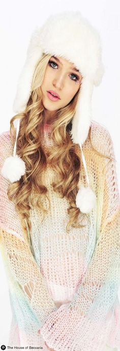 ~The Wildfox Rainbow Ski Bunny Lost Sweater | The House of Beccaria