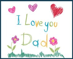 A simple card with a thousand meaning #FathersDay