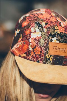 Thieves Supply - Koi Cap Handcrafted in New Zealand. Skater Girl Style, Skater Girls, I Love Fashion, Girl Fashion, Fashion Ideas, Baseball Cap Outfit, Look 2015, Cap Girl, Cute Hats