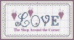 by Le Crocette di Manu Wedding Cross Stitch, Cross Stitch Heart, Cross Stitch Borders, Cross Stitch Designs, Cross Stitch Patterns, Love Valentines, Valentine Heart, Valentine Crafts, Blackwork Embroidery