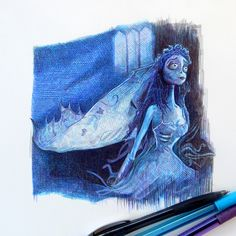 The Corpse Bride by OMKDrawings.deviantart.com on @deviantART