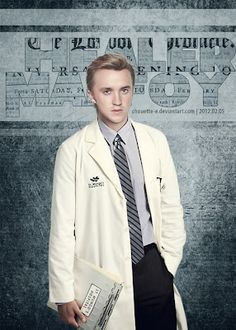 You know what I love about Malfoy being a healer? It's his way of making up for what he did. A healer is a selfless job taking care of those who can't take care of themselves. Those injured by the actions of others. It is a job of compassion, which is something he didn't understand until he saw the results of wickedness.