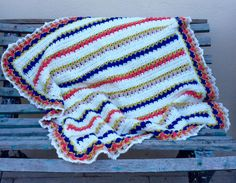 Baby girl blanket for Teodelina