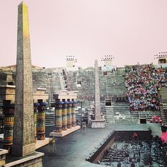 #Aida via Instagram photo by @Cristina Bonetti