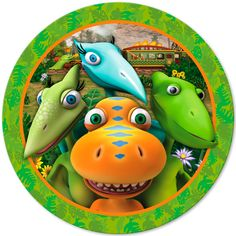 I keep asking Savannah what she what to do for it and she keep say Dinosaurs!! So Dinosaur Train it is!